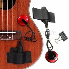 Guitar Piezo Contact Microphone Mic Pickup 4 Violin Banjo Ukulele Mandolin #426
