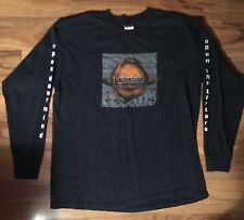 VTG 90s Test Dept Totality Long Sleep Shirt Goth Grunge Rock XL