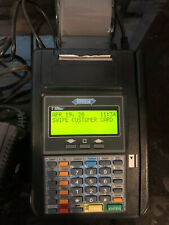 Hypercom T7Plus Credit Card Terminal with Power Cable Hardly Used