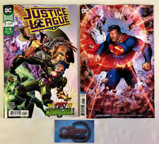 Justice League 7 A + Jim Lee Variant Cover B 1st Print  DC Comics 2018 NM