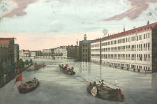 NIEDERLANDE HOLLAND AMSTERDAM KUPFER ALTKOLORIERT 1770