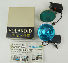 Polaroid Model #268 Flashgun Attachment for Polaroid Camera, Mint in box + extra
