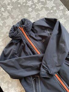 Ladies Helly Hansen HH Waterpoof Jacket, Dark Blue, Size XXL