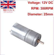 12V DC 300 RPM High Torque Gear Box Electric Motor YA7