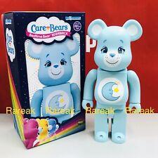 Medicom 2019 Be@rbrick America Greeting 400% Care Bears Bedtime Bear Bearbrick