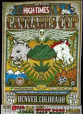 High Times 2X Large 2015 Denver Medical Cannabis Cup Snoop Dogg TShirt 2XL New