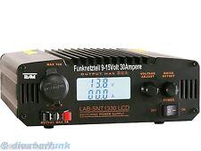 CB Funk & Amateurfunk Netzteil HF feste 9-15Volt 30Ampere Team LabSNT-1330 LCD