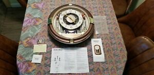 SEIKO Hi-Fi Melodies In Motion BEATLES SONGS Wall Clock # QXM111GRH parts/repair