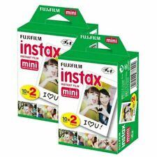 40 Sheets Fujifilm Instax Mini Instant Film For Mini 8-9 & all Fuji Mini Cameras