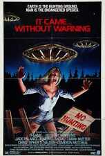 It Came Without Warning Poster 01 A2 Box Canvas Print