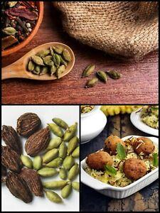 Dried Cardamom/Elettaria cardamomum Seed 100%Pure Organic Natural Ceylon 20seeds