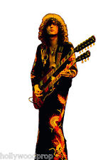 JIMMY PAGE LED ZEPPELIN LIFESIZE CARDBOARD STANDUP STANDEE CUTOUT POSTER PROP