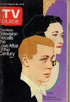 1972 TV Guide December 16 Duke & Duchess of Windsor; Suzanne Pleshette;R Nureyev