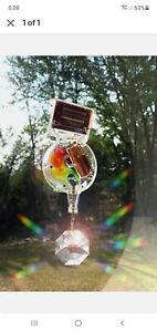 Kikkerland Solar Solar Powered RainbowMaker With Swarovski Crystal