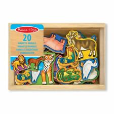 Melissa & Doug Wooden Magnetic Animal Magnets 10475