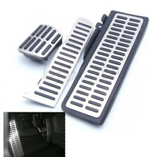 3pcs  ABS Plastic Stainless Steel AT Footrest Pedal  For VW Golf MK6/Jetta