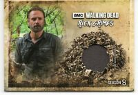 Walking Dead Season 8 Part 1 RICK GRIMES COSTUME RELIC Trading Card RC-RG