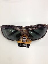 New Calcutta Prowler Polarized Sunglasses Gray Lens/True Timber Frame-511396