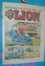 LION COMIC 24TH APRIL 1965 1960S A CLASSIC GROUNDBREAKING UK COMIC