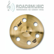 "Sabian AAX 18"" O-Zone Crash Effekt Cymbal Brilliant Becken Drums    *TOPDEAL*"