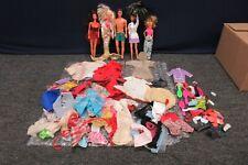 6 Vintage Mattel Barbie Ken Doll Lot 1960 1980 Bulk Clothes Accessories