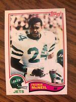 1982 Topps #176  Freeman McNeil  New York Jets   NrMt