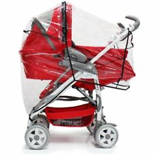 Raincover For Maxi-Cosi Loola Cabriofix Travel System Package (Raspberry Red)