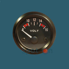 "2"" Hi-Visibility Analog Volt Meter Gauge for Car, Boat, Truck, etc"