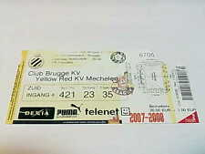 TICKET CLUB BRUGGE – KV MECHELEN: JUPILER LEAGUE 09/02/2008