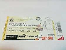 TICKET CLUB BRUGGE – KV MECHELEN: JUPILER LEAGUE 09/02/2008