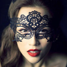 Sexy Black Lace eye mask Costume Party Fancy Dress Ladies Masquerade Masks Rx