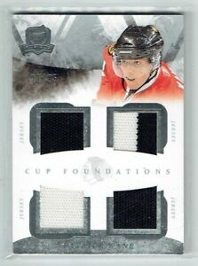 10-11 UD The Cup Foundations  Patrick Kane  /25  Quad Jerseys