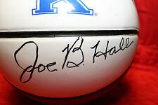 JOE B HALL AUTOGRAPHED AUTO SIGNED RAWLINGS BASKETBALL UK KENTUCKY COACH COA