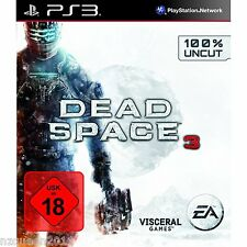 Dead Space 3 (100% uncut)  [PS3] 18er / DEUTSCH * NEU & OVP *