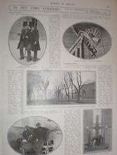 Photo article how astronomers helping to correct international clock 1902
