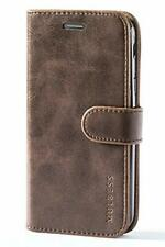 Case For Samsung Galaxy Xcover 4 Leather Wallet Folio Card Slot Kickstand Brown