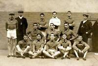 OLD PHOTO Football 1912 The Barnsley Fa Cup Winning Team 2