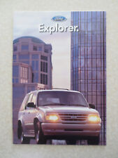 1996 Ford Explorer automobile advertising booklet - All new Focus