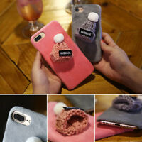 Warm Furry Fur Phone Cover Hard PC Skin Case For iPhone X/Xs/Xr Xs Max 8 7 6 5