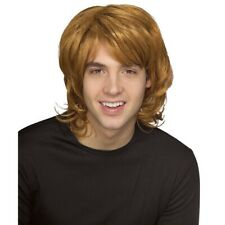 Shag 1970s 1980s Ginger Blonde Bee Gees Mullet Mens Costume Wig