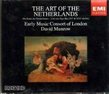Early Music Consort of London Art of the Netherlands CD