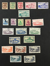 LEBANON 1947-53  VF Used Partial Sets Regular & Air Mail            Catalogs $32