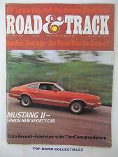 Road and Track Magazine    September 1973    Enzo Ferrari Interview-Commendatore