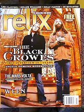 RELIX MAGAZINE FEB/MAR. 2008 THE BLACK CROWES WEEN LES CLAYPOOL MARS VOLTA+CD