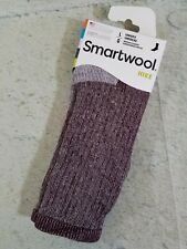 Smartwool Hiking Crew Socks Unisex Size Large Medium Cushion Wool Burgundy NWT
