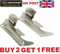 HIGHLANDER MILITARY ARMY STYLE P38 P51 SURVIVAL CAN OPENERS CAMP TA SCOUT SF SAS