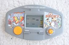ACTION SPORT Game & Watch Style! 2 Games in 1 Car Racing & Ice Hockey! Very RARE