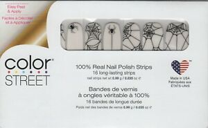 Color Street Nail Strips Web of Lies Clear Overlay -USA Made!