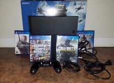 Sony PlayStation 4 500GB - PS4 Console & 4 games w/controller. GTAV, Witcher 3!
