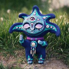 Resin Elf Sculpture Fantasy Creature Yard Art Statues Garden Ornament Home Decor